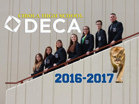 Cibola DECA Officers